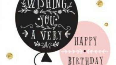 Birthday messages and birthday wishes Image 390x220 - Birthday messages and birthday wishes Image