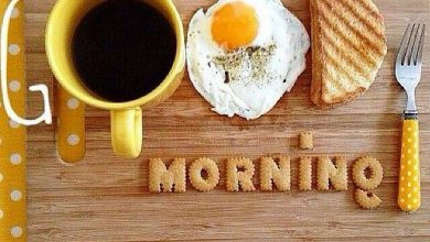 Coffee and Breakfast Greeting Om good morning Images 390x220 - Coffee and Breakfast Greeting Om good morning Images