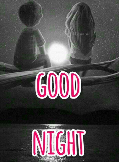 Good night sms to my love image - Good night sms to my love image