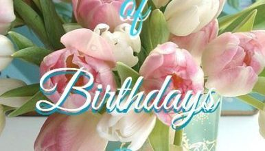 Nice birthday note Image 386x220 - Nice birthday note Image