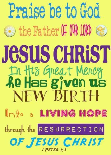 Easter Sunday Greetings Card - Easter Sunday Greetings Card